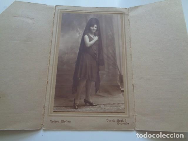 GRANADA. FOTO TORRES MOLINA. BONITA Y ANTIGUA IMAGEN (Fotografía - Artística)
