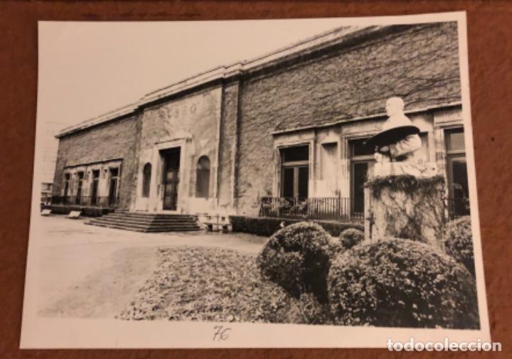 MUSEO DE BELLAS ARTES DE BILBAO. FOTOGRAFÍA EN B/N DE LOS AÑOS 80. 18 X 24 CMS. (Fotografía - Artística)