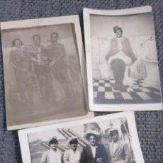 Fotografía antigua: LOTE 3 FOTOS HUMORÍSTICAS ANTIGUAS. Lote 133899514