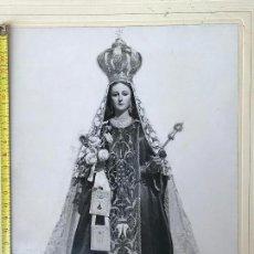 Fotografía antigua: FOTOGRAFIA DE NUESTRA SEÑORA CARMEN MULA -. Lote 134056230