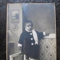 Fotografía antigua: FOTOGRAFIA NIÑO - DARBLADE - TORREVIEJA. Lote 134314226