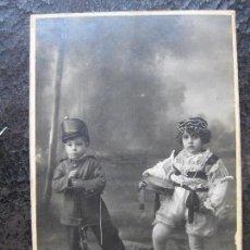 Fotografía antigua: FOTOGRAFIA NIÑOS - DARBLADE - TORREVIEJA. Lote 134314738
