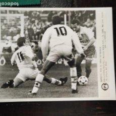 Fotografía antigua: GRAN FOTOGRAFIA - FUTBOL . ESPECIAL PARA EL IDEAL DE GRANADA ,PARTIDO CADIZ CLUB - REAL JAEN . 1996. Lote 134632798