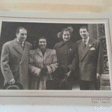 Alte Fotografie - Antigua Fotografía - Álbum de Boda - Dos Parejas, Vestidos de Época - Fotografía Gonsanhi - 134815038