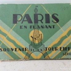 Fotografía antigua: 20 ANTIGUAS FOTOS DE PARIS EN FLANANT. YVON SERIE 2, EN SU SOBRE ORIGINAL. FORMATO 7X9.. Lote 143414581