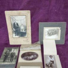 Fotografía antigua: LOTE DE 6 ANTIGUAS FOTOGRAFÍAS, B/N, VARIAS TEMÁTICAS Y AÑOS. Lote 135354382