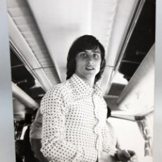 Fotografia antiga: ANTIGUA FOTOGRAFIA DE JOHAN CRUYFF. AÑO 1974. RETRATO. 24 CM. X 17,5 CM.. Lote 135410798
