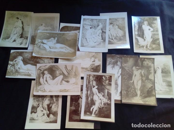 LOTE FOTOGRAFÍAS ANTIGUAS ARTÍSTICAS (Fotografía - Artística)