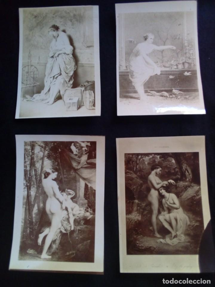 Fotografía antigua: Lote fotografías antiguas artísticas - Foto 2 - 135425830
