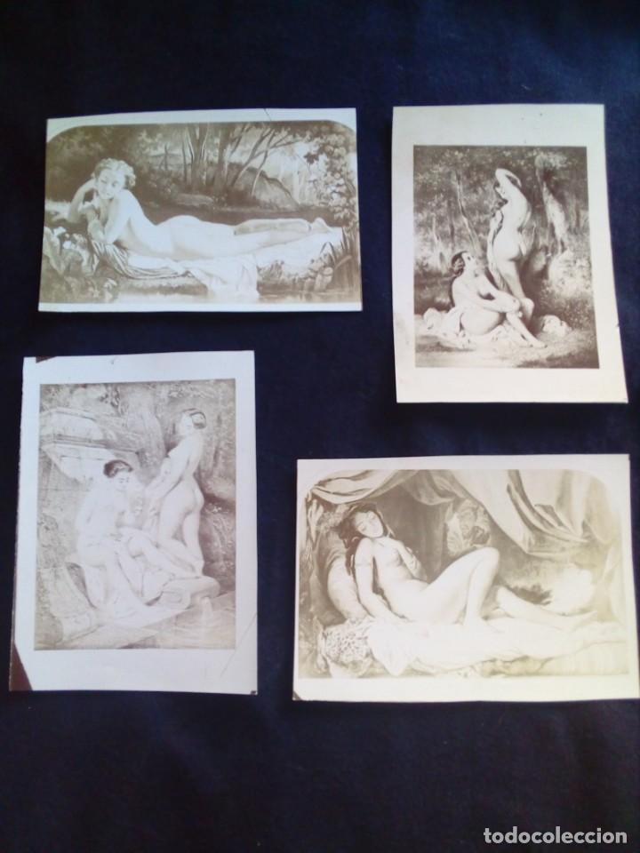 Fotografía antigua: Lote fotografías antiguas artísticas - Foto 3 - 135425830