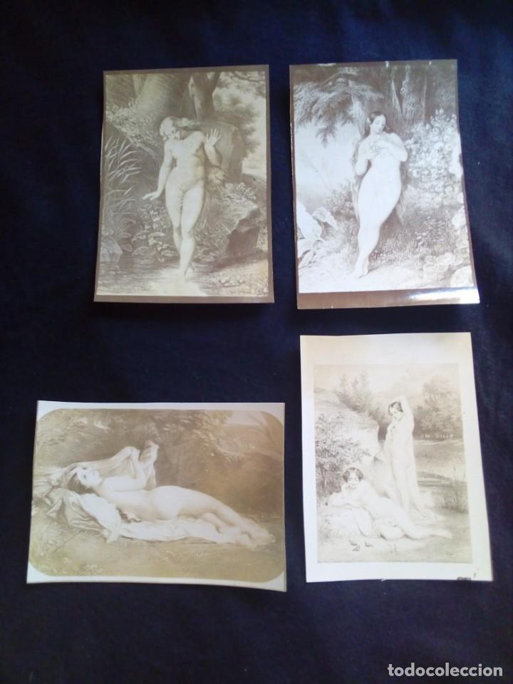 Fotografía antigua: Lote fotografías antiguas artísticas - Foto 4 - 135425830