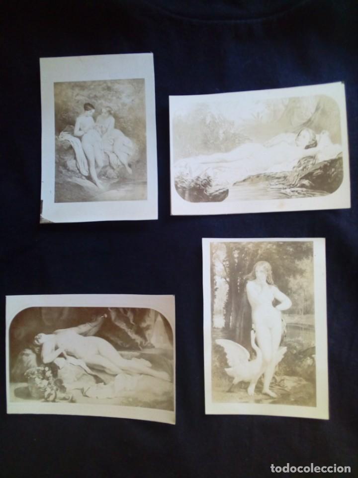 Fotografía antigua: Lote fotografías antiguas artísticas - Foto 5 - 135425830