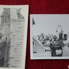 Fotografía antigua: FOTOS EN BLANCO Y NEGRO DEL VALLE DE LOS CAÍDOS CUELGAMUROS MADRID. Lote 135811610