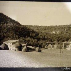 Fotografía antigua: FOTOGRAFÍA DE MASIA FABREGA DE CASTELLTERSOL.. Lote 136271794