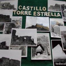 Fotografía antigua: LOTE DE FOTOGRAFIAS ANTIGUAS CASTILLO DE TORREESTRELLA CADIZ. Lote 136366498
