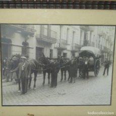 Fotografía antigua: FOTOGRAFÍA DE IGUALADA 1941.FESTIVIDAD DE ANTONIO ABAD.ANTONIO VALLS CON 41 AÑOS.. Lote 136369478
