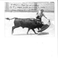 Fotografía antigua: PASE NATURAL DE JUAN PELLICER LÓPEZ.. Lote 137109102