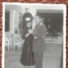 Photographie ancienne: COMANDANTE DE AVIACION BAILANDO. Lote 137290978