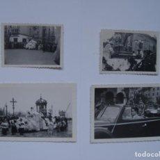 Fotografía antigua: 4 FOTOGRAFÍAS ANTIGUAS: SANTANDER (PROCESIÓN, FOTO SAMOT, 1949) ¡ORIGINALES!. Lote 137352426