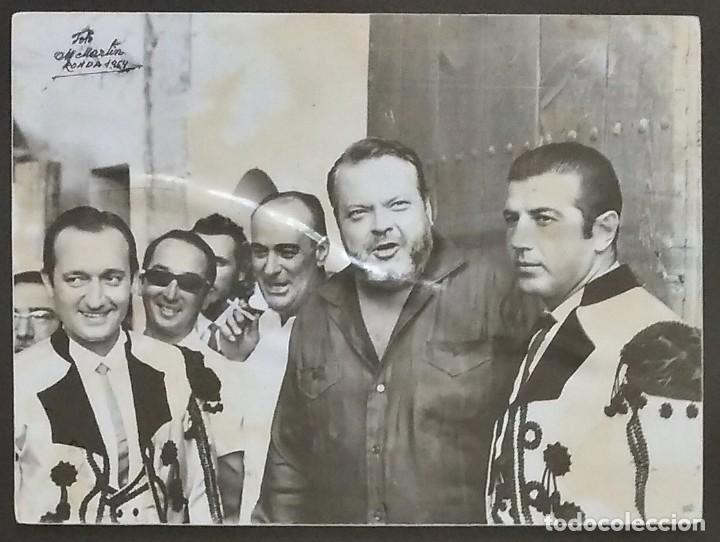 Orson welles y antonio ordoñez. original de 196 - Vendido en Venta ...