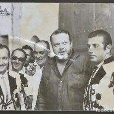 Fotografía antigua: ORSON WELLES Y ANTONIO ORDOÑEZ. ORIGINAL DE 1964. Lote 119662859