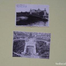 Fotografía antigua: 2 FOTOGRAFÍAS ANTIGUAS: PARÍS (1953) ¡ORIGINALES!. Lote 137416662