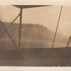 Photographie ancienne: ANTIGUA FOTOGRAFÍA VISTA DEL CASTILLO DE SAGUNTO? VALENCIA, DESDE UN BARCO EN EL MAR. AÑOS 20-30. CB. Lote 137423622