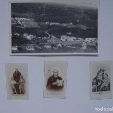 Fotografía antigua: FOTOGRAFÍA ANTIGUA: PEREIRA (COLOMBIA) CON 3 ESTAMPAS RECORDATORIOS (1960) ¡ORIGINAL!. Lote 137450094