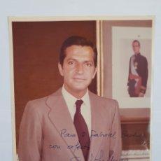 Fotografía antigua: FOTOGRAFÍA ADOLFO SUÁREZ GONZÁLEZ 1976(PRESIDENTE DEL GOBIERNO DE ESPAÑA). Lote 137498764
