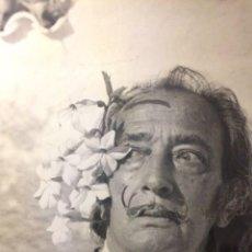 Fotografía antigua: SALVADOR DALI BY MARC LACROIX SIGNED 300X120. Lote 137682930