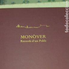 Fotografía antigua: MONOVER RECORDS D'UN POBLE. Lote 137978125