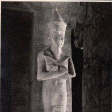 Fotografía antigua: LOTE DE 5 FOTOS DE ABU SIMBEL - EGIPTO AÑOS 1960. Lote 138094674