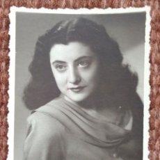 Photographie ancienne: SEÑORITA POSANDO. Lote 138743422