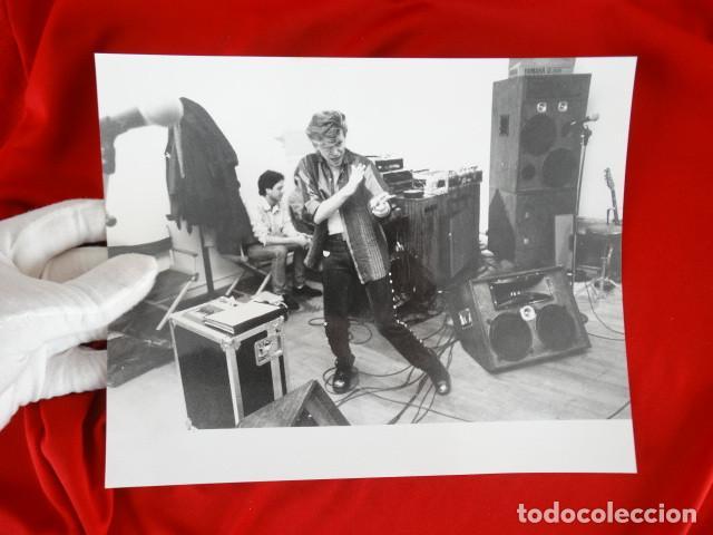 Fotografía antigua: LOTE FOTOGRAFIAS: DAVID BOWIE, MICK JAGGER, ANDY WARHOL - Foto 5 - 138941098