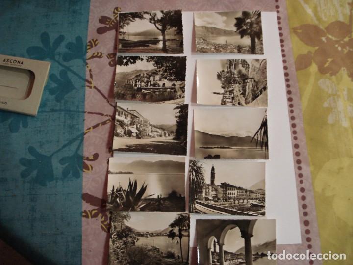 Fotografía antigua: CARTERILLA FOTOS LAGO MAGGIORE ASCONA - Foto 2 - 138982298