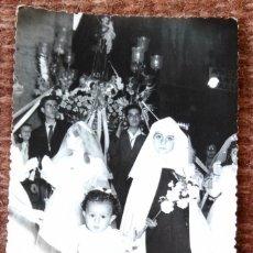 Fotografía antigua: PROCESION RELIGIOSA - FOTO: ERNESTO, VALENCIA. Lote 139261130