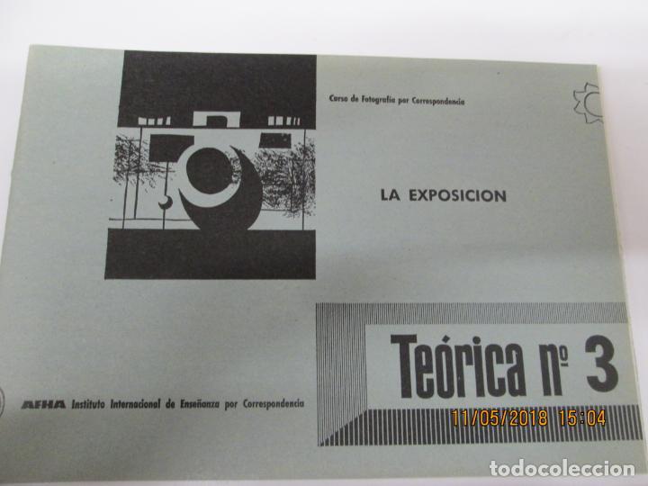 Fotografía antigua: FOTOGRAFIA CURSO 9 TOMOS AFHA TEORICA 9 TOMOS - VER DETALLE DE TEMAS - Foto 3 - 139383142