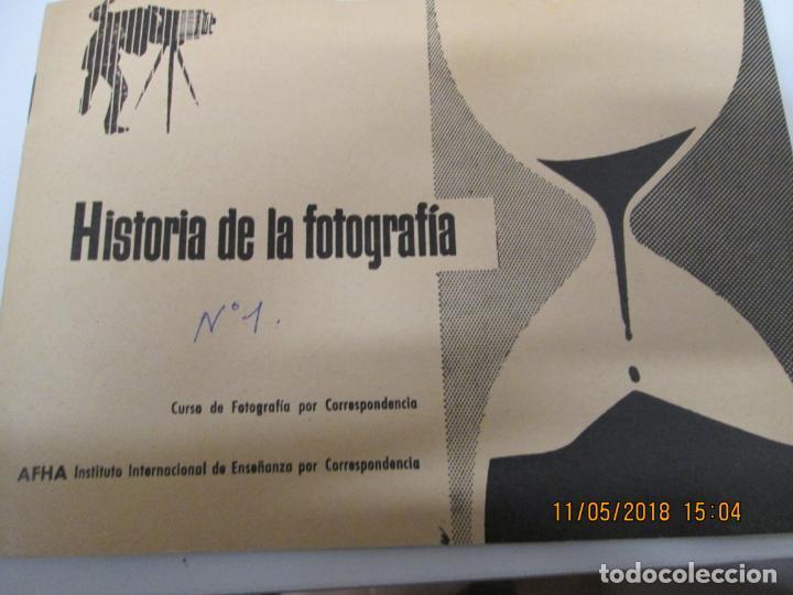 FOTOGRAFIA HISTORIA CURSO AFHA 1 TOMO AÑO 1958 (Fotografía - Artística)