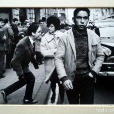 Fotografía antigua: XAVIER MISERACHS - VIA LAIETANA BARCELONA 1962 - FOTOGRAFIA FIRMADA Y NUMERADA. Lote 139539094