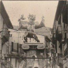 Fotografía antigua: FOTOGRAFIA DE UNA FALLA NA JORDANA 1967 VALENCIA - --H-8. Lote 139661162