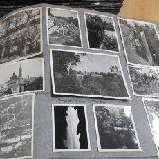 Fotografía antigua: 11 FOTOS MONASTERIO DE PIEDRA-CALATAYUD 1960-ZARAGOZA. Lote 139900340
