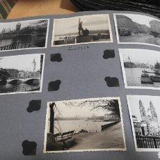 Fotografía antigua: 7 FOTOS DE ZURICH 1960- SUIZA. Lote 139900592
