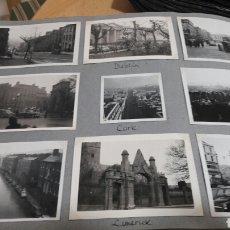 Fotografía antigua: 9 FOTOS DE DUBLIN, CORK Y LIMERICK 1960-IRLANDA. Lote 139900936