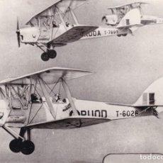 Fotografía antigua: 1930'S FOTOGRAFÍAN AVION BIPLANO BRITÁNICO D H TIGER. Lote 140049010