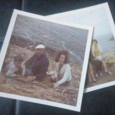 Fotografía antigua: LOTE 2 FOTOS. DORSO: GORLIZ VIZCAYA 1969. Lote 140461102