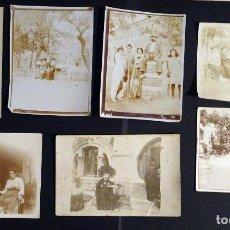 Fotografía antigua: 7 FOTOGRAFÍAS DE PRINCIPIOS DEL SIGLO XX TEMÁTICA ESTIUEIG, POSIBLEMENTE DE LA ZONA DE BARCELONA. . Lote 140566402