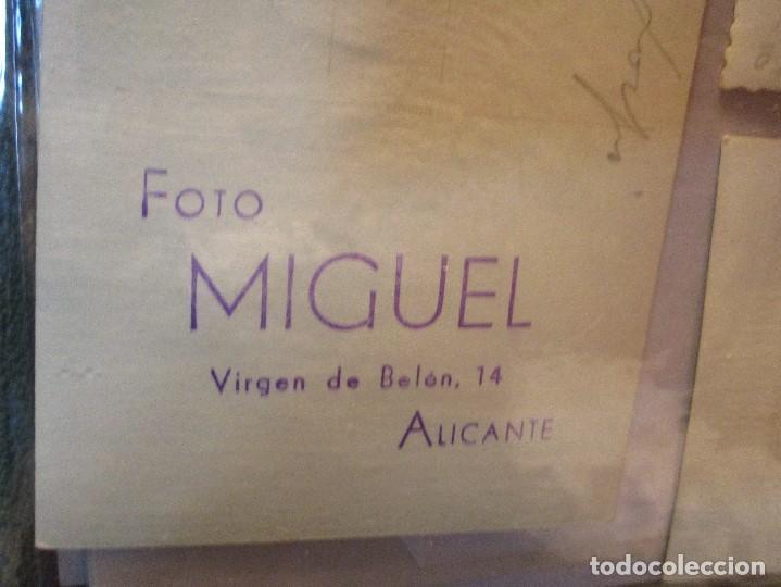 Fotografía antigua: FOTO ANTIGUA FOGuERER CON TRAJE DE FIESTAS HOGUERAS DE ALICAnte FOTOGRAFO MIGUEL - Foto 2 - 140577290