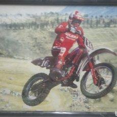 Fotografía antigua: ANTIGUO CUADRO MOTOCROSS S. MARCHINO. Lote 140662889
