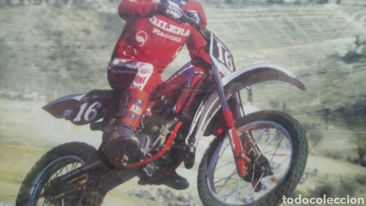 Fotografía antigua: Antiguo Cuadro Motocross S. Marchino - Foto 2 - 140662889