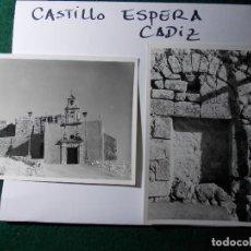 Fotografía antigua: FOTOS ANTIGUAS CASTILLO DE ESPERA. Lote 140683766